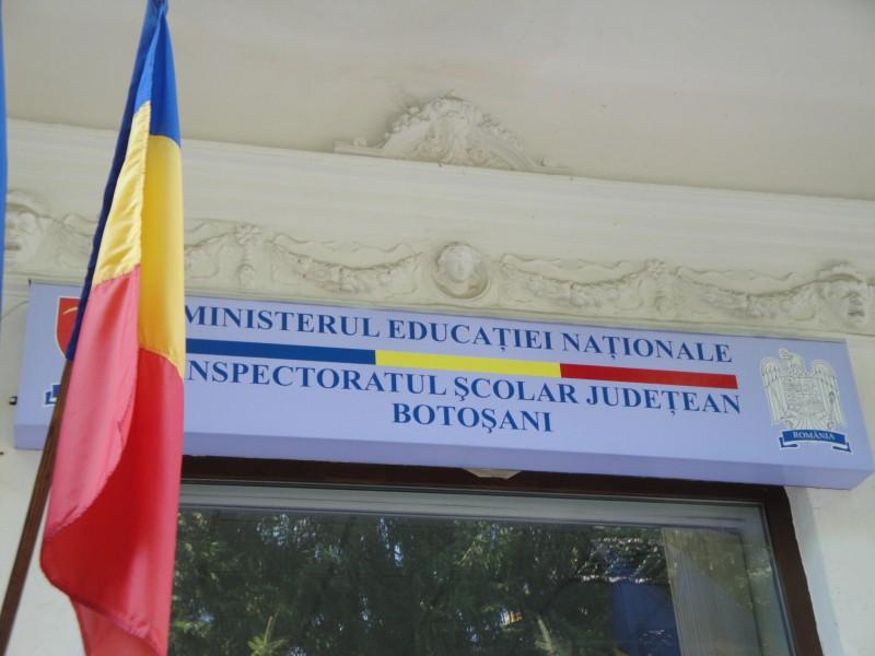 Niciun candidat pentru al doilea post de adjunct de la Inspectoratul Școlar Botoșani