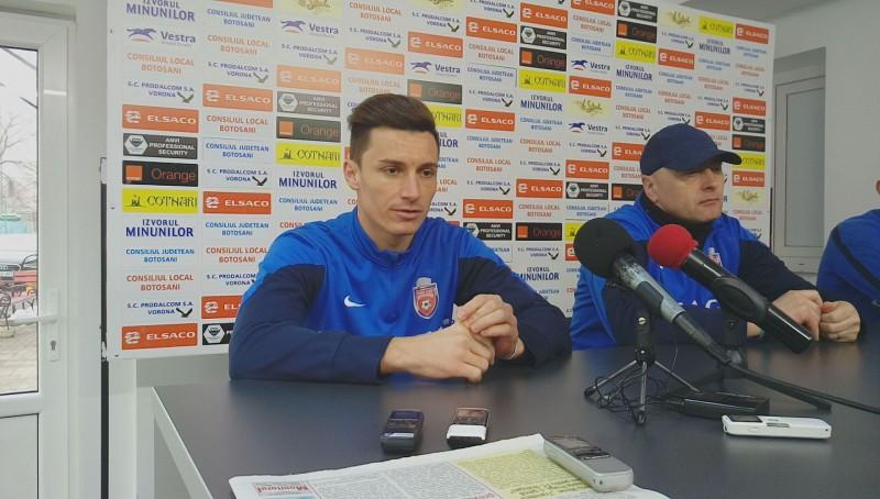 """Nicolae Mușat, înaintea meciului cu Dinamo: """"Eu sincer cred în Play-Off"""" - VIDEO"""