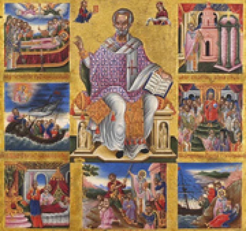 Nicolae, sfântul care se bucură de cea mai mare popularitate. Ascultă colindul Sfântului Nicolae!