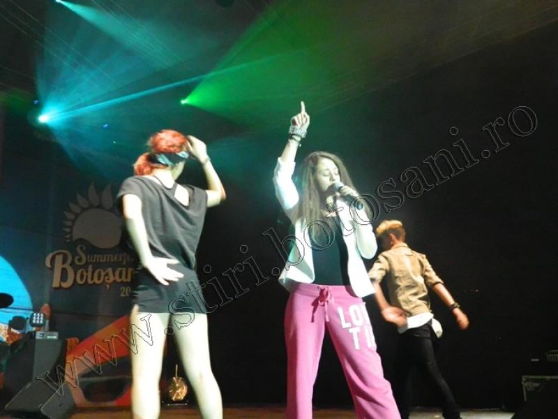 Nicole Cherry, Ianna și Mediana Vlad – live la Botoșani pe scena Festivalului Diversității Multiculturale