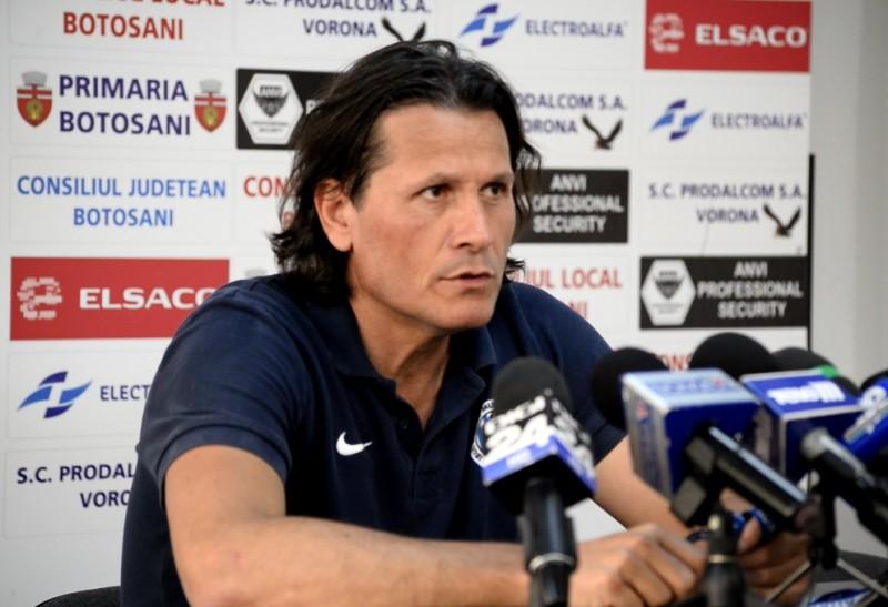 "Nicolo Napoli: ""FC Botosani este o echipa buna, dar incercam sa castigam meciul"""
