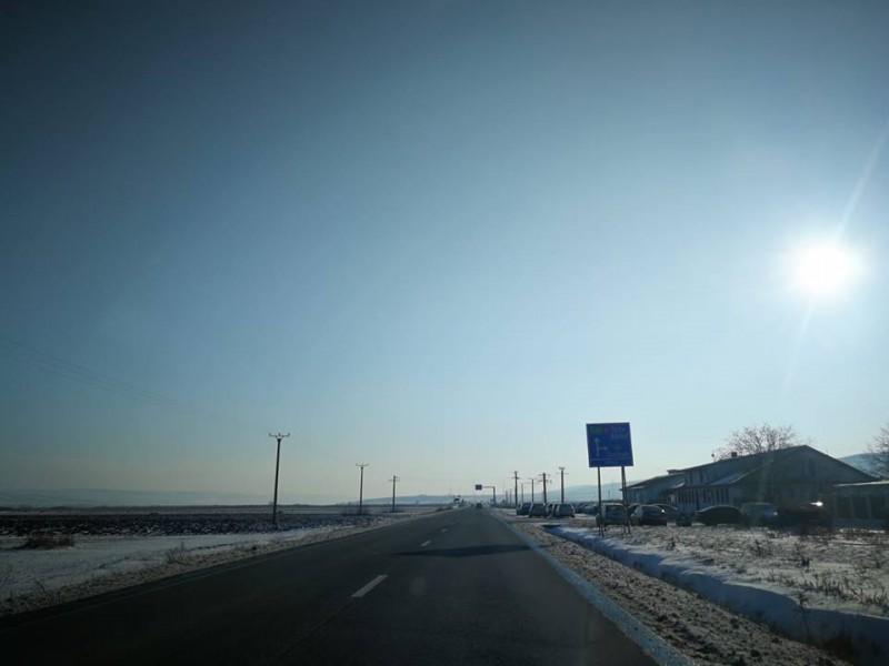 Ninsori slabe în Moldova. Dacă urci la volan, vezi cum se circulă pe drumurile naționale, detaliat pe județe