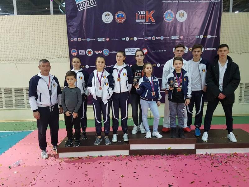 Noua medalii obtinute de sportivii de la Pam*Phil Center, la Cupa Samurai din Chisinau - FOTO