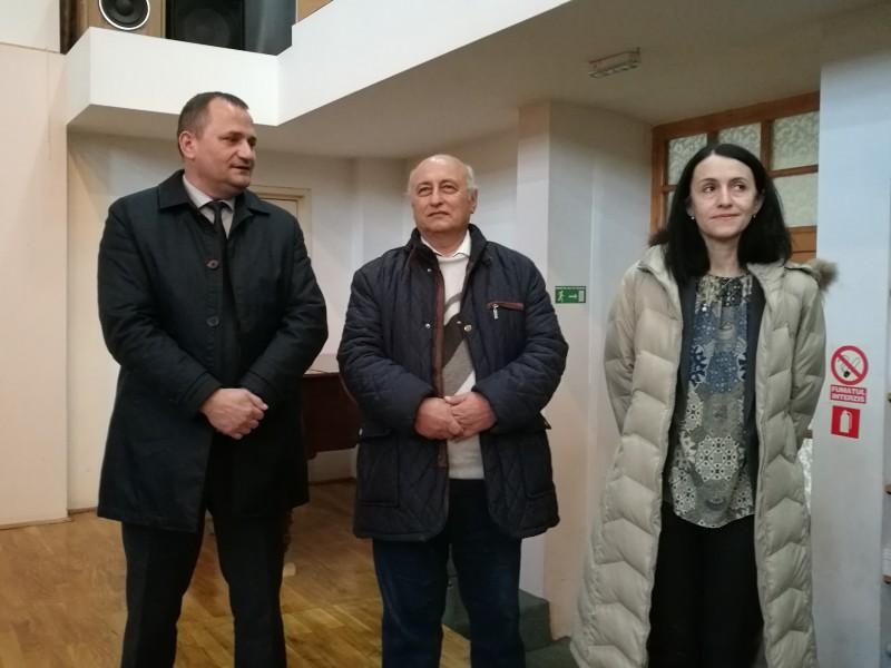 Noul director al Memorialului Ipotești, instalat în funcție - FOTO