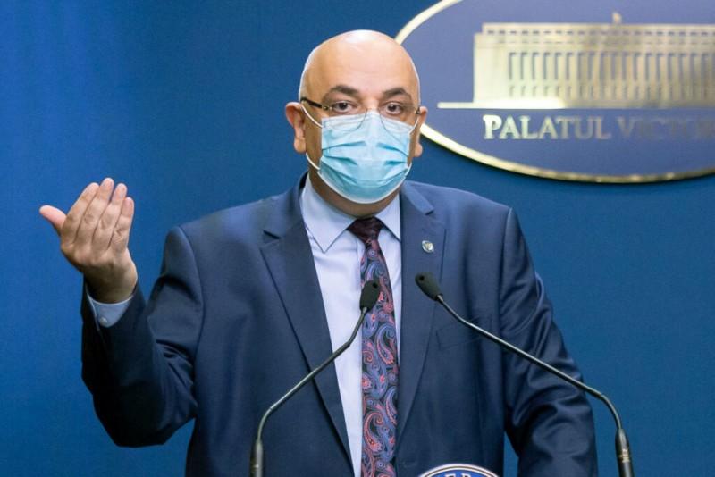 """Numărul de noi cazuri de coronavirus ar putea să crească după sărbători. Raed Arafat: """"Clar că după sărbători este posibil să avem din nou creștere"""""""