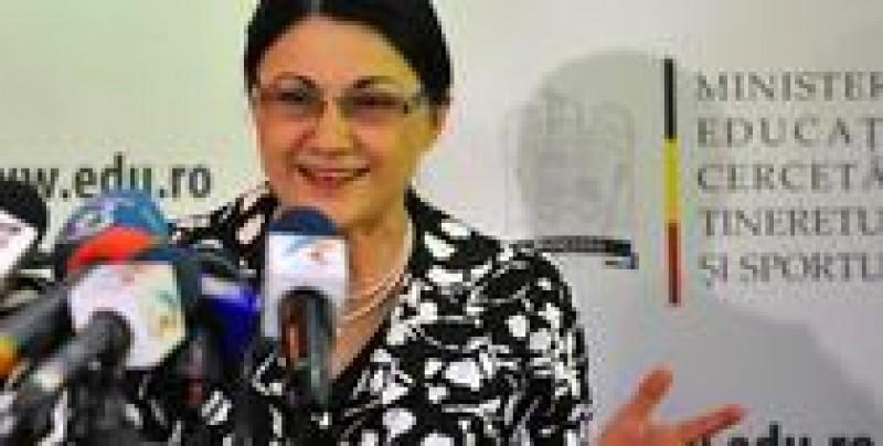 Numele vehiculate pentru Ministerul Educatiei: Ecaterina Andronescu, din nou in carti!