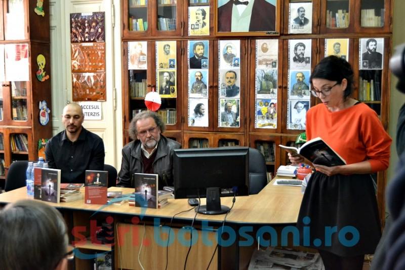 O altă faţetă: Volum de poezii lansat de botoşăneanul Bogdan Cărăuşu la Biblioteca Judeţeană FOTO, VIDEO