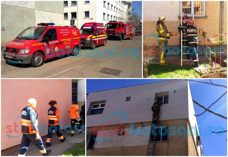 O asistenta de la Spitalul Judetean a fost gasita moarta in casa! Pompierii au spart geamul pentru a intra in locuinta! FOTO