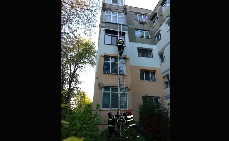 O bătrână de 87 de ani a fost salvată în ultimul moment de pompierii de la Dorohoi. Leșinase în baie și nu se mai putea mișca