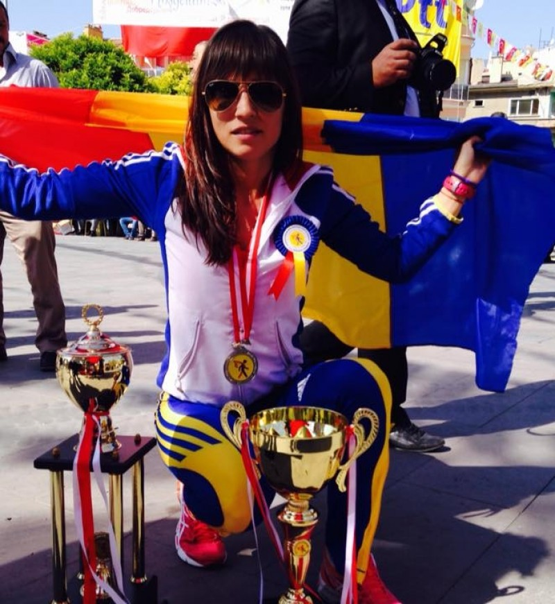 O botosaneanca a obtinut MEDALIA DE ARGINT la Campionatul Balcanic al Postasilor din Turcia si MEDALIA DE AUR cu echipa Romaniei! FOTO