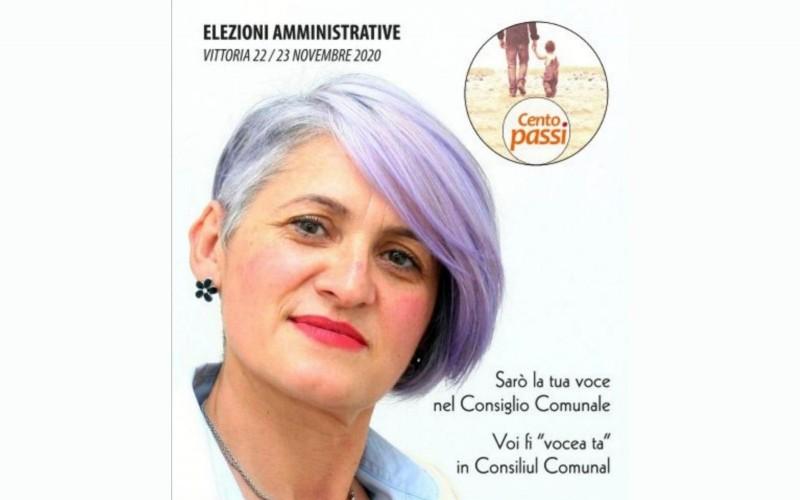O botoșăneancă din Sicilia participă la alegerile pentru un post de consilier local la primăria din Vittoria. Dorina vea înfrățirea orașului Vittoria cu mai multe localități din județul Botoșani