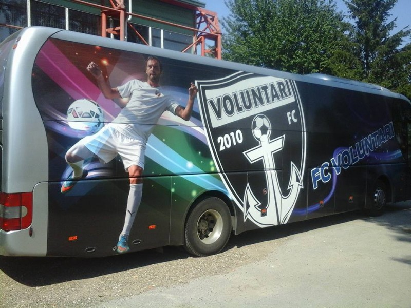 O echipa de juniori a dat clasa celor de la FC Botosani! A venit la meci cu un super-autocar! FOTO