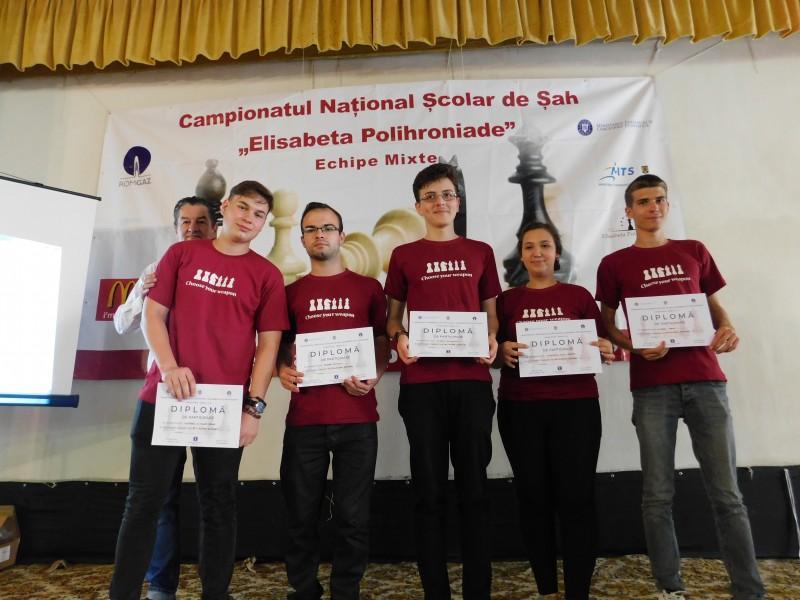 """O elevă a Colegiului Național """"A.T. Laurian"""" a câştigat bronzul la Campionatul Naţional Şcolar de şah """"Elisabeta Polihroniade""""! FOTO"""