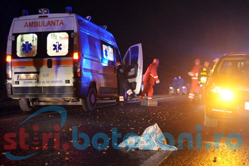 O femeie a murit după ce a fost spulberată de un autoturism!