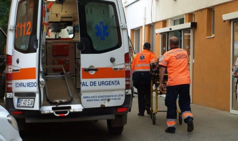 O femeie de 55 de ani, din Stăuceni, a ajuns la Urgenţe, cu piciorul secționat de o motocoasă!