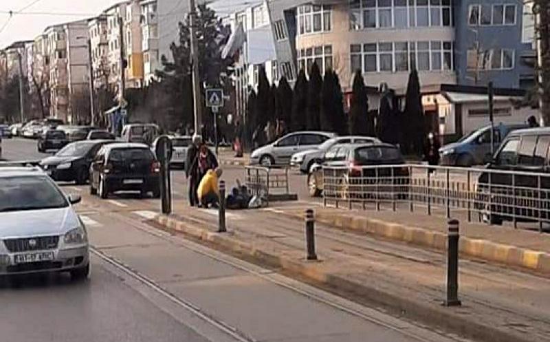 O femeie din Botoșani a fost victima unui accident rutier
