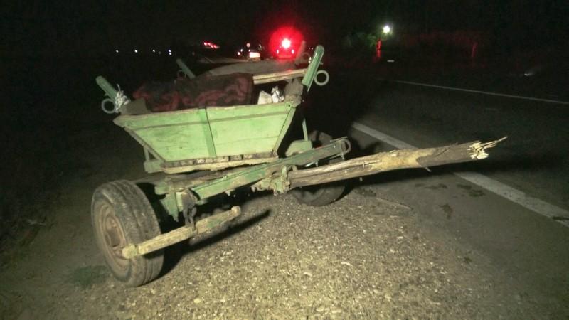 O fetiţă de numai 11 ani se zbate între viaţă şi moarte după ce căruţa în care se afla a fost spulberată de mașina unui botoșănean!