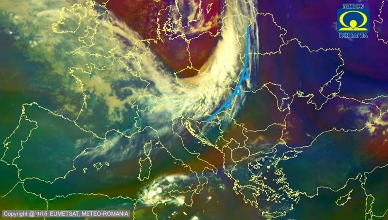 O masă uriașă de aer arctic va lovi România. Temperaturile scad drastic