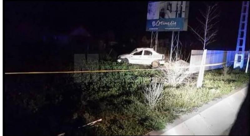 O maşină a Poliţiei cu radar s-a răsturnat, în timp ce urmărea un șofer care gonea spre Botoșani!
