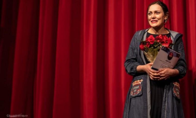 O monodramă și o actriță scriu istorie pentru Botoșani, de pe scena Teatrului Național din Mongolia
