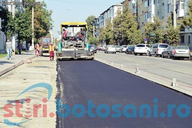 O nouă firmă va repara străzile din municipiul Botoșani