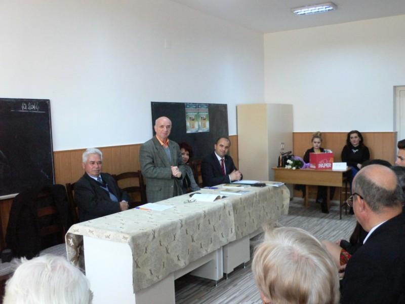O nouă lansare de carte a scriitorului Gheorghe Burac, la Vlăsineşti