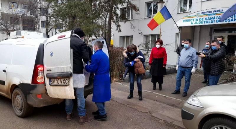 O nouă tranșă de vaccinuri anti-Covid a ajuns la Botoșani