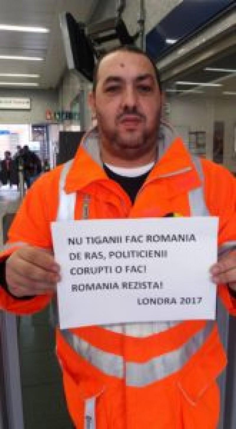 O PALMĂ usturătoare pentru politicienii români: Și tiganii vor o Românie fără hoţi!