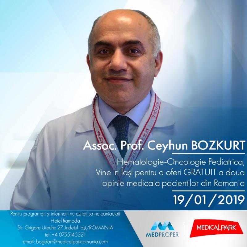 O şansă la viaţă pentru copiii bolnavi de cancer: Renumit oncolog pentru copii din Turcia vine la Iași