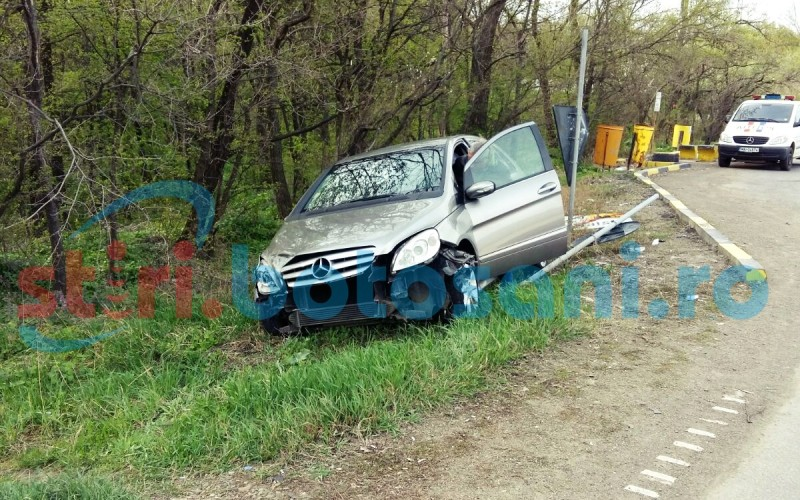 O soferita a ajuns la spital, in urma unui accident ce a avut loc la Baisa! FOTO