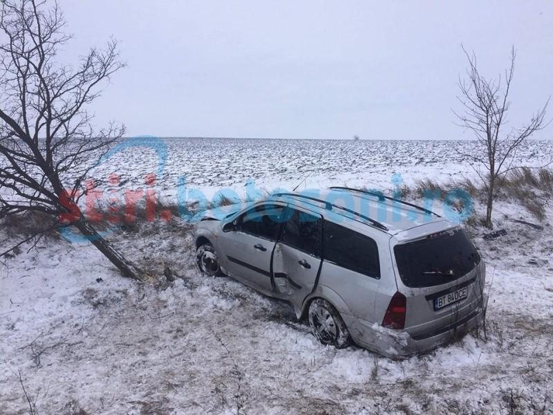O şoferiţă, cadru didactic, a produs un accident după ce s-a urcat la volan sub influenţa băuturilor alcoolice!