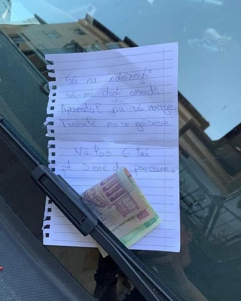 """O tânără din Baia Mare a lăsat un mesaj inedit polițiștilor: """"Să nu îndrăzniți să-mi dați amendă!"""""""