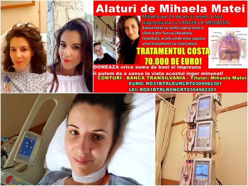 O tanara din Botosani are nevoie de ajutorul nostru pentru a invinge cancerul! FOTO