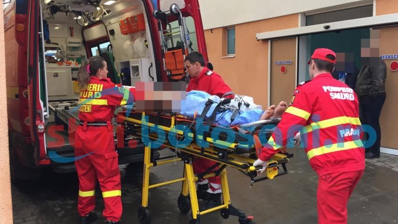 O victimă a accidentului de la Lebăda, transportată la Iași!