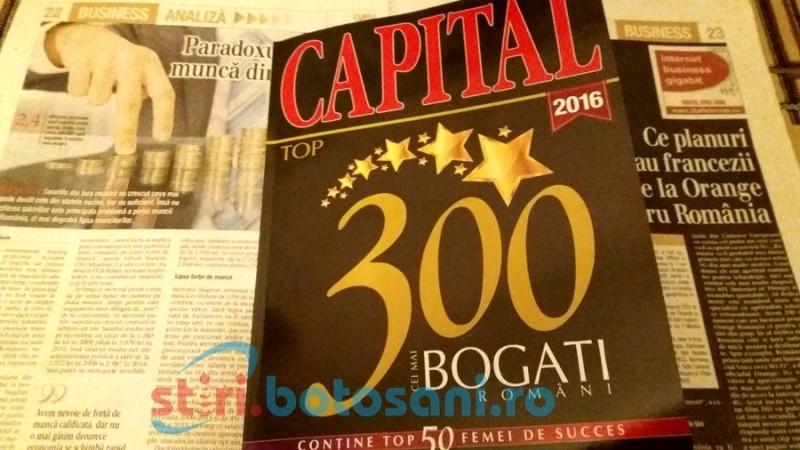 Oameni de afaceri botoşăneni, în Top 300 Capital 2016!