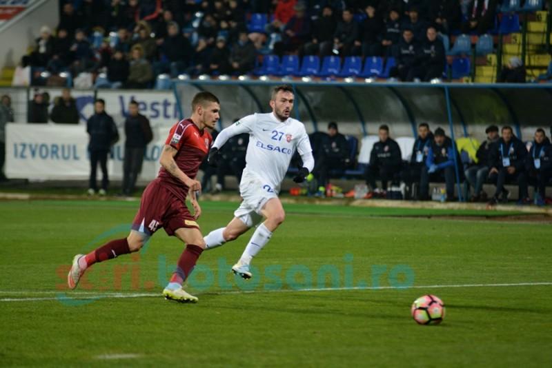 Ocazii ratate monumental, joc lipsit de substanţă, pase aiurea! FC Botoşani- FC Voluntari 0- 1 FOTO
