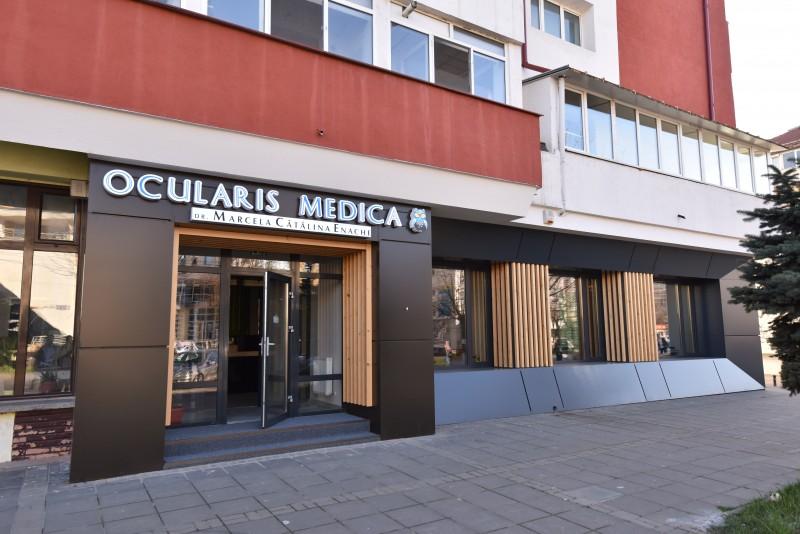 Ocularis Medica, cabinet oftalmologic și optică medicală într-o locație modernă în Botoșani FOTO