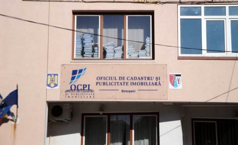 Oficiul de Cadastru și Publicitate Imobiliară Botoșani și-a reluat activitatea