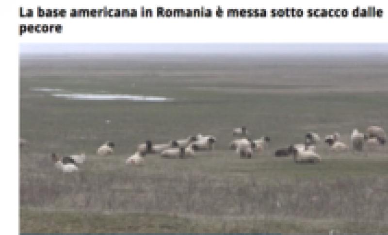 Oile care pun în pericol baza militară de la Deveselu, în presa italiană!