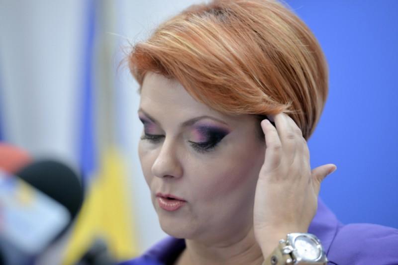 Olguţa Vasilescu a găsit vinovații pentru scăderile salariale: Calculele greşite făcute de direcţiile de Resurse Umane!