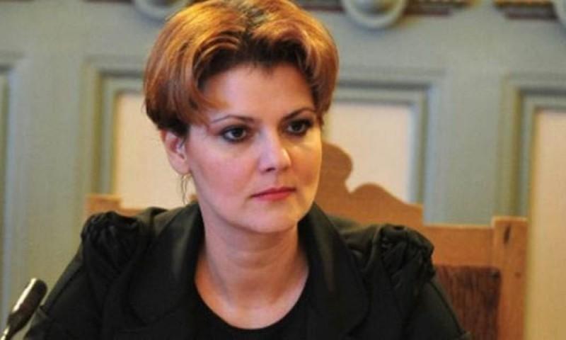 Olguța Vasilescu: Este exclus să se elimine salariul minim