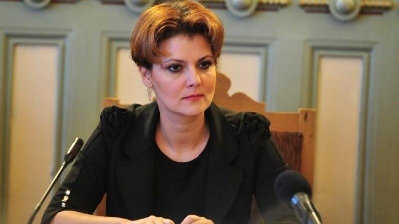 Olguța Vasilescu: Ordonanțele pentru creșterea pensiilor și a salariilor trebuie date imediat