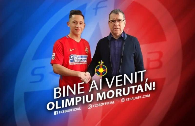 Olimpiu Moruţan a semnat cu FCSB, dar va termina campionatul la FC Botoşani