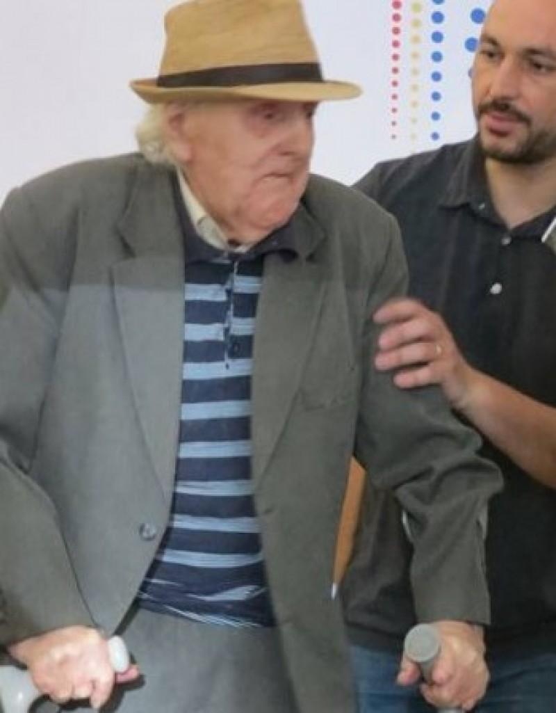 Omul care poartă prin veac Istoria: Ioan Maluș împlinește 96 de ani!