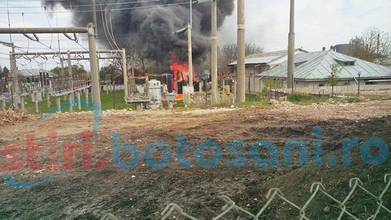 Incendiul de la transformatoarele din Zona Industrială: Rezultatele anchetei! FOTO