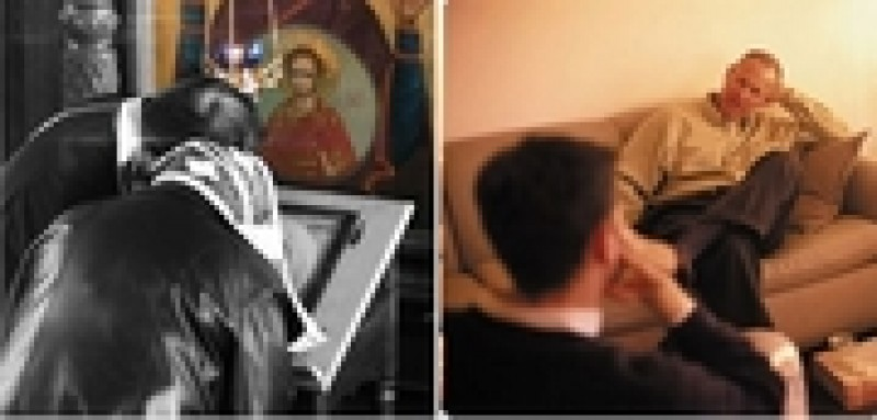 OPINII: Duhovnicul sau psihologul