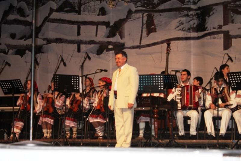 "Orchestra ""Mugurelul"" si Ansamblul Folcloric ""Margineanca"", in concert la Sala Palatului"