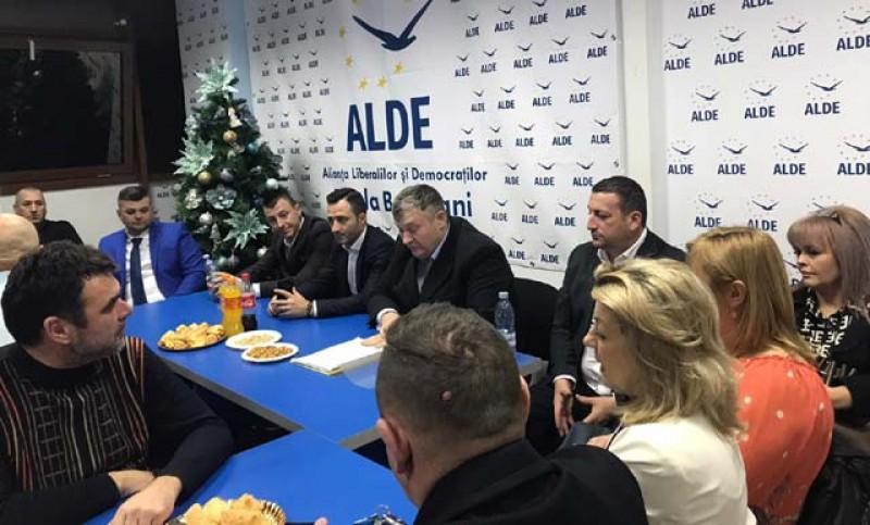 ALDE Botoșani și-a decis componența Biroului Politic Municipal