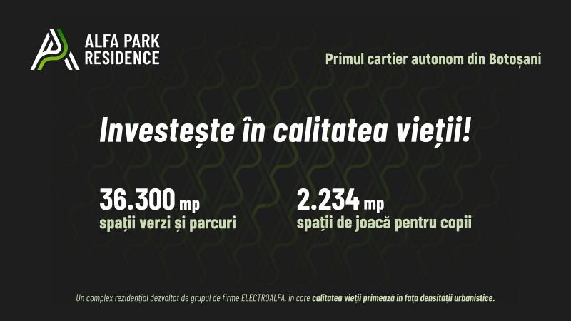 (P) Alfa Park Residence - Investește în calitatea vieții!