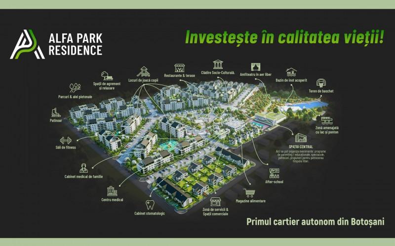(P) Alfa Park Residence - premisele pentru cartierul autonom cu cei mai buni indicatori de calitate a vieții din Botoșani